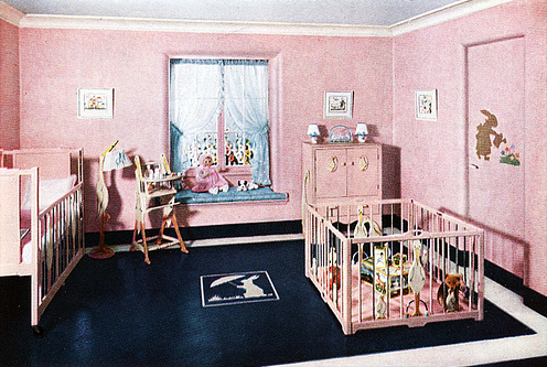1934, Kinderzimmer, Better Homes&Garden