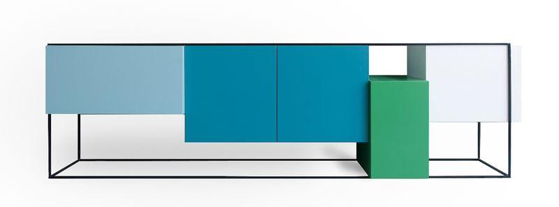 Framed blauw 2