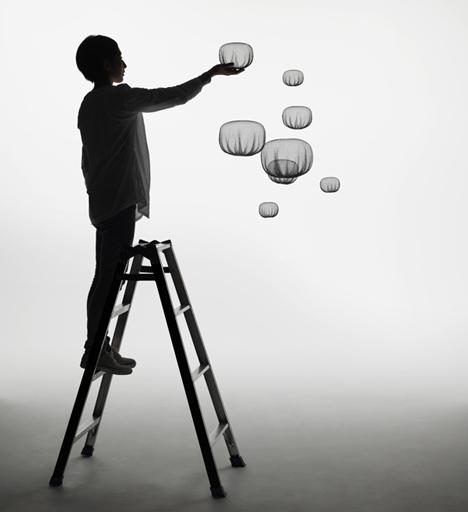 Dezeen_Static-Bubbles-by-Nendo-for-Carpenters-Workshop_3